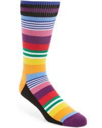 Happy Socks - Athletic Multistripe Socks - Lyst