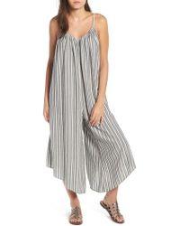 Billabong - Del Sur Stripe Jumpsuit - Lyst