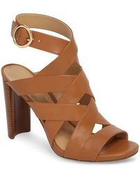 Alana Caged Block Heel Sandals rqXPT
