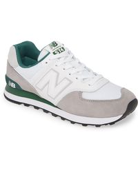 c71869a91ab35 New Balance 574 Classic Sneakers in Gray for Men - Lyst