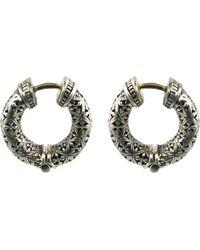 Konstantino - Classics Hoop Earrings - Lyst