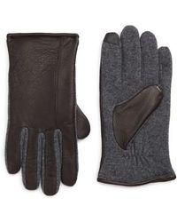 Ralph Lauren - Deer Leather Hybrid Driving Gloves - Lyst