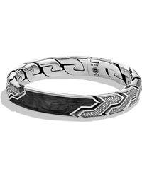 David Yurman - Forged Carbon Id Bracelet - Lyst