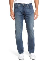 PAIGE | Normandie Straight Fit Jeans | Lyst