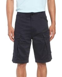 G-Star RAW - Rovic Zip Loose Shorts - Lyst