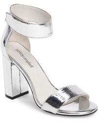 Jeffrey Campbell - 'lindsay' Ankle Strap Sandal - Lyst