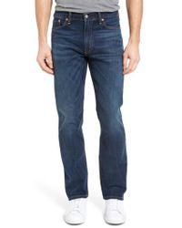 Levi's - Levi's 513(tm) Slim Straight Leg Jeans - Lyst