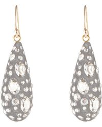Alexis Bittar - Essentials Diamond Dust Dewdrop Earrings - Lyst
