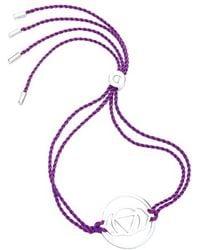 Daisy London - 'brow Chakra' Cord Bracelet - Purple - Lyst