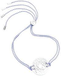 Daisy London - 'crown Chakra' Cord Bracelet - Purple - Lyst