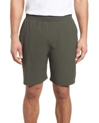 tasc Performance Charge Water Resistant Athletic Shorts - Green