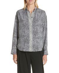Rag & Bone - Christie Cheetah Print Silk Shirt - Lyst