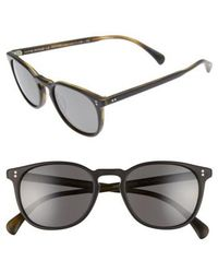 Oliver Peoples | 'finley' 51mm Retro Sunglasses | Lyst