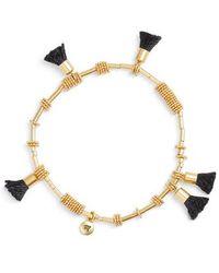 Madewell - Raffia Tassel Bracelet - Lyst