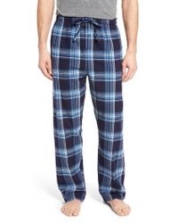 c3e7ba7c1c Lyst - Polo Ralph Lauren Plaid Flannel Boxer in Red for Men