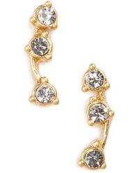 Madewell - 'gemline' Stud Earrings - Lyst