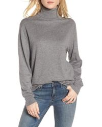 Treasure & Bond - Boyfriend Turtleneck Sweater - Lyst