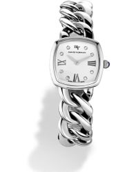 David Yurman - 'albion' 23mm Stainless Steel Quartz Watch With Diamonds - Lyst