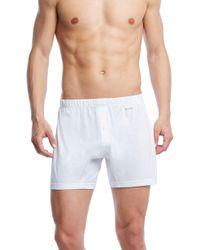 2xist - Pima Cotton Knit Boxers - Lyst