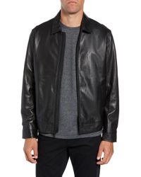 Calibrate - Leather Jacket - Lyst