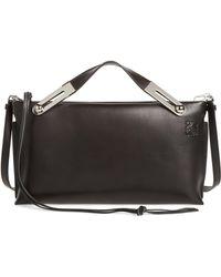 Loewe - Missy Lambskin Leather Shoulder Bag - - Lyst