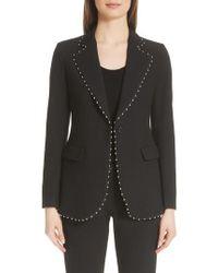 Emporio Armani - Studded Jacket - Lyst