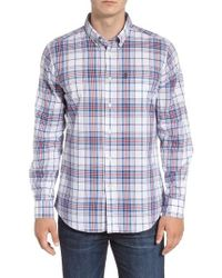 Barbour - Christopher Tailored Fit Plaid Sport Shirt - Lyst