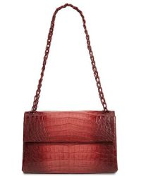 Nancy Gonzalez - Degrade Genuine Crocodile Shoulder Bag - - Lyst