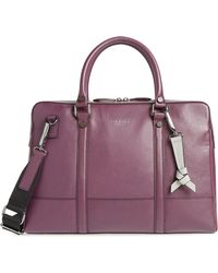 Ted Baker - Hoooch Leather Briefcase - - Lyst