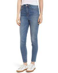 Treasure & Bond - Charity High Waist Skinny Ankle Jeans - Lyst