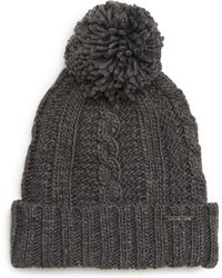 MICHAEL Michael Kors - Cable Knit Hat - - Lyst