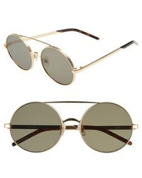 Wildfox - Ace 55mm Round Sunglasses - - Lyst