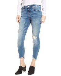 Vigoss - Marley Tulip Hem Ankle Skinny Jeans - Lyst