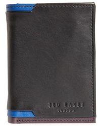 Corner Detail Leather Wallet Ted Baker CFuo3P6Kb