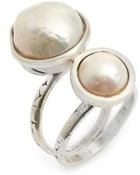 Chan Luu - Double Pearl Ring - Lyst