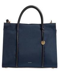 Skagen - Katryn Canvas Satchel - Lyst