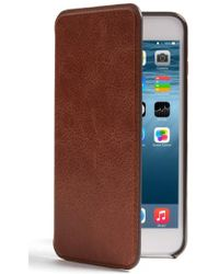 Sena - Iphone 7 Plus Ultra Thin Leather Wallet Case - Lyst