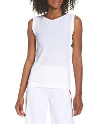 BoomBoom Athletica - Lace-up Tank - Lyst
