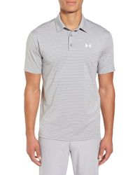 Under Armour - 'playoff' Loose Fit Short Sleeve Polo - Lyst