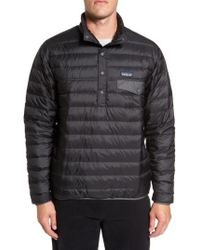 Patagonia - Water Repellent 600-fill-power Down Pullover Jacket - Lyst
