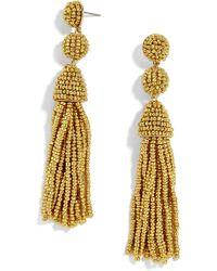 BaubleBar - Pinata Beaded Tassel Earrings - Lyst