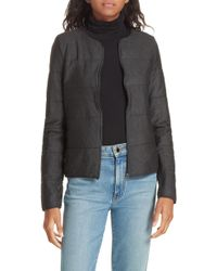 Majestic Filatures - Quilted Bolero Jacket - Lyst