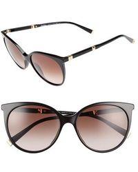 Max Mara - Desigi 55mm Gradient Cat Eye Sunglasses - Lyst