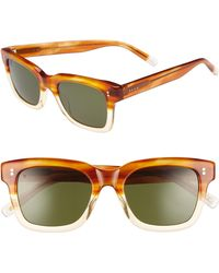 36fbe9bed12 Lyst - Raen Gilman 52mm Polarized Sunglasses - Honey Havana  Green ...