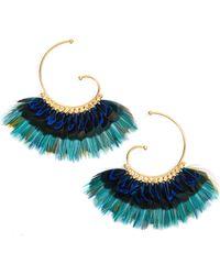 Gas Bijoux - Buzios Feather Earrings - Lyst