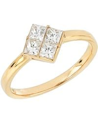 Bony Levy - Princess Diamond Ring (trunk Show Exclusive) - Lyst