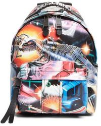 Moschino - Small Transformer Print Backpack - Lyst