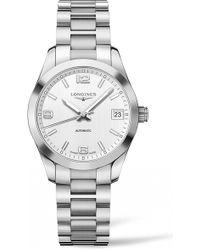 Longines - Conquest Classic Automatic Bracelet Watch - Lyst