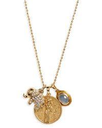 Melinda Maria   Goddess Pendant Necklace   Lyst