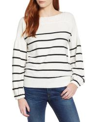Lucky Brand - Stripe Pullover - Lyst